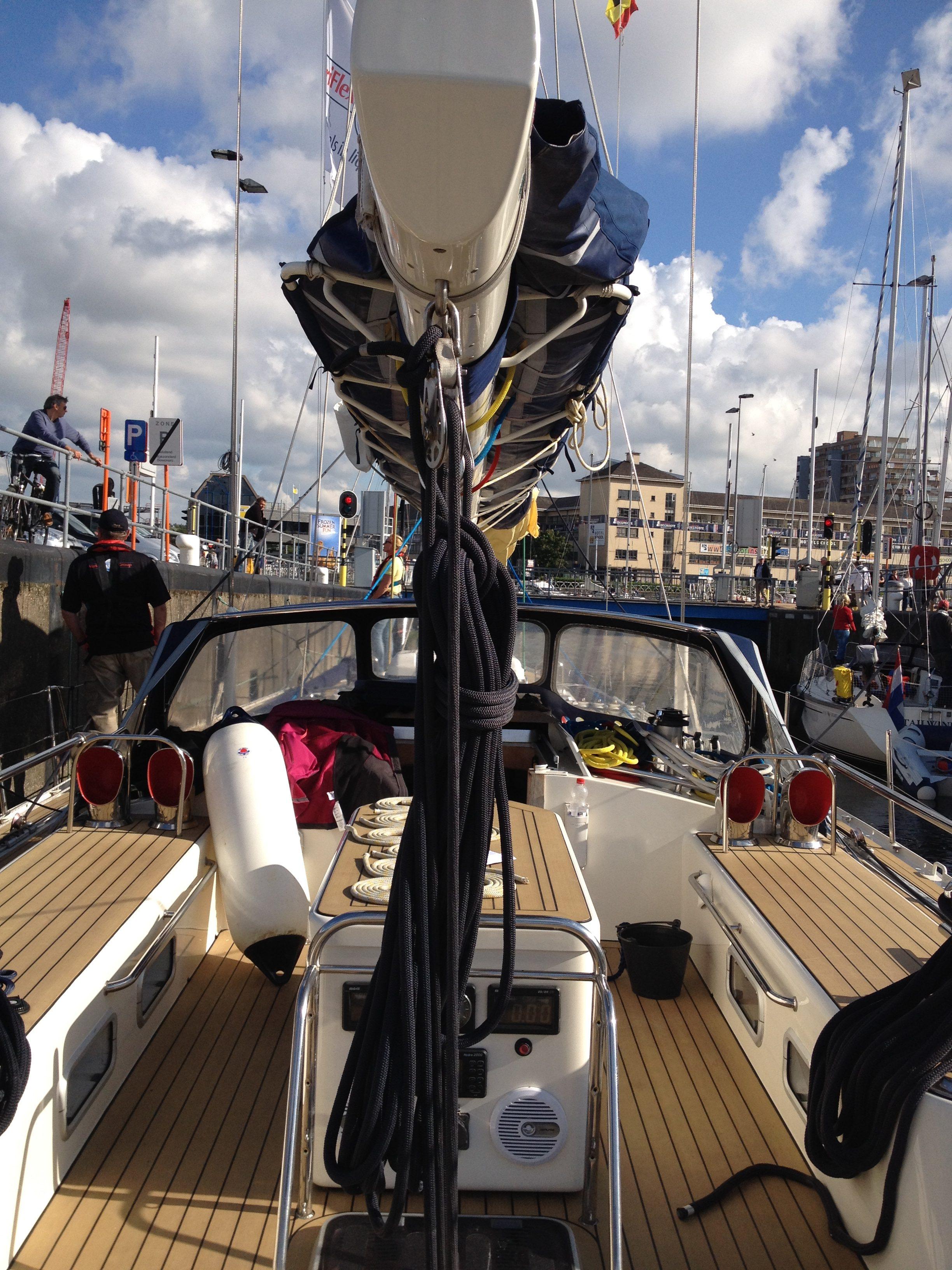 Sailing trip Belgium
