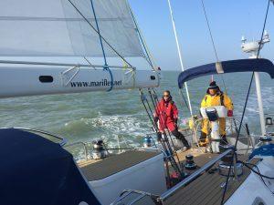 Northsea sailing trip