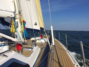 Northsea sailing trip