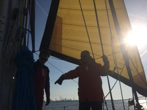 North Sea sailing trip